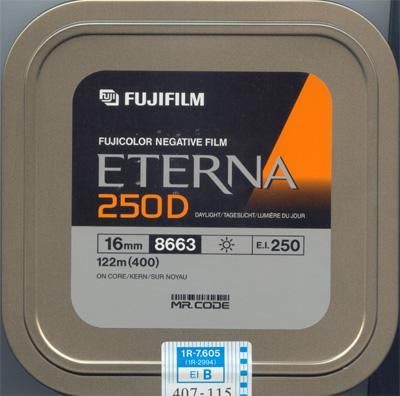 16mm fuji film